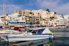 Naxos old town royalty free stock photos