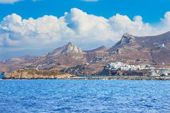 Naxos - The part of town Chora Hora on the Naxos island in the Aegean Sea Stock Photo