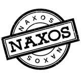 Naxos rubber stamp Stock Photo