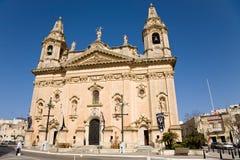 Naxxar Parish church, Malta Stock Photography