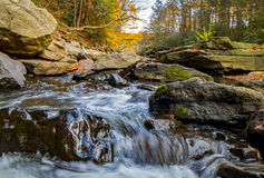 Nay Aug Gorge in Autumn Stock Image