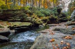 Nay Aug Gorge no outono imagens de stock