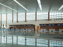 Nay Pyi Taw International Airport, Myanmar royalty-vrije stock foto