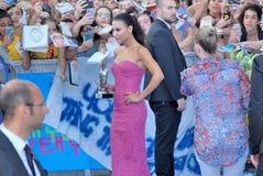 Naya Rivera al Giffoni Film Festival 2013 lizenzfreie stockfotos