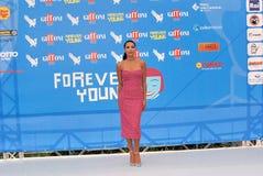 Naya Rivera al Giffoni Film Festival 2013 Royalty Free Stock Images