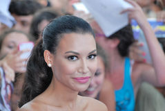 Naya Rivera al Giffoni Film Festival 2013 Royalty Free Stock Photography
