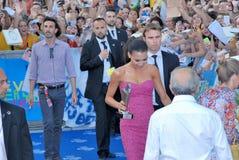 Naya Rivera al Giffoni Film Festival 2013 Royalty Free Stock Image