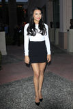 Naya Rivera arrives at the Glee TV Academy Screening and Panel Royalty Free Stock Images