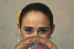 Nayarit folk dancer Stock Photography