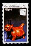 Nayarit-Zahl, internationale philatelistische Ausstellung - 89 Brasiliana serie, circa 1989 Stockbilder