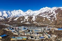 Naylam στο Θιβέτ Στοκ φωτογραφίες με δικαίωμα ελεύθερης χρήσης