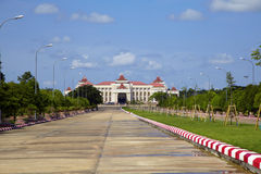 Naypyidaw city (Nay Pyi Taw) Stock Images