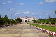 Naypyidawstad (Nay Pyi Taw) Stock Afbeeldingen