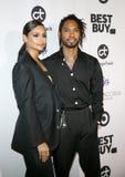 Nazanin Mandi en Miguel royalty-vrije stock fotografie