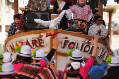 Nazaré καρναβάλι Στοκ Εικόνα