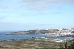 Nazaré (sur) - Portugal Fotografía de archivo libre de regalías