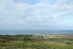 Nazaré (sur) - Portugal Foto de archivo libre de regalías