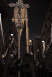 Nazaräer mit Kruzifix Stockfoto