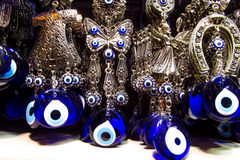 Nazar boncuk Turkse amulet stock fotografie