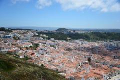 nazare葡萄牙 免版税库存照片