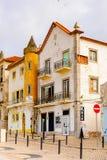 Nazare,葡萄牙海岸  免版税库存照片
