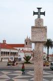 Nazare,葡萄牙,伊比利亚半岛,欧洲 免版税库存照片