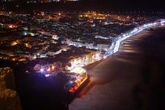nazare νύχτα Στοκ Εικόνες
