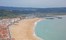 Nazare stock photography