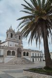 Nazare church o sitio, portugal Royalty Free Stock Photography