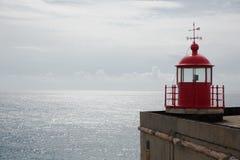 Nazare latarnia morska, Portugalia Fotografia Stock