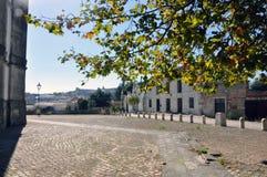 Nazare miasto, Portugalia Obrazy Stock