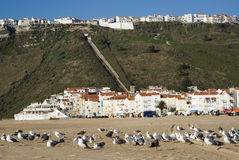 Nazare, Portugal Imagen de archivo