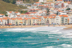 Nazare, Portugal Stock Photography