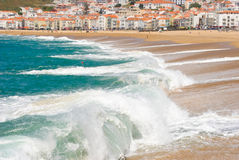 Nazare, Portugal Royalty-vrije Stock Foto