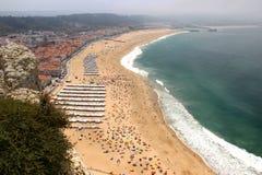 Nazare, Portugal Royalty Free Stock Photos