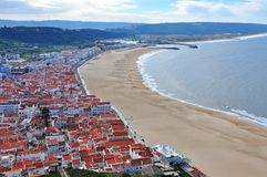 Nazare, Portugal images stock