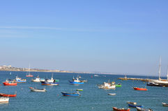 Nazare, Portugal Fotografia de Stock Royalty Free