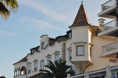 Nazare, Portugal Imagem de Stock Royalty Free