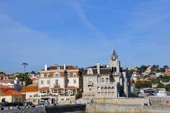 Nazare, Portugal Stockbild