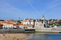 Nazare, Portugal. Nazaré is a town and a municipality in subregion Oeste and Leiria District, in Portugal Stock Photos