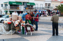 Nazare, Portugal, péninsule ibérienne, l'Europe Photographie stock