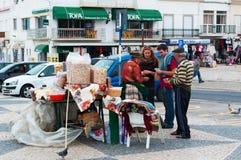 Nazare, Portugal, péninsule ibérienne, l'Europe Photo stock