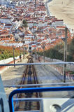Nazare, Portugal, tourism destination Royalty Free Stock Photography