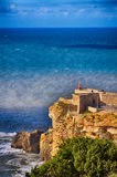 Nazare, Portugal, tourism destination Royalty Free Stock Images