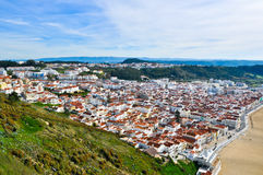 Nazare Skyline Royalty Free Stock Image