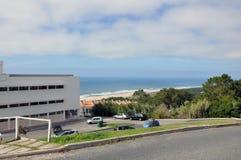 Nazare-Stadt, Portugal Lizenzfreie Stockfotos