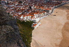 Nazare Royalty Free Stock Photos
