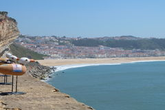 Nazare view Stock Image
