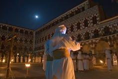 Nazarenes και φεγγάρι Στοκ Εικόνες