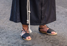 Nazareno Feet Stock Images